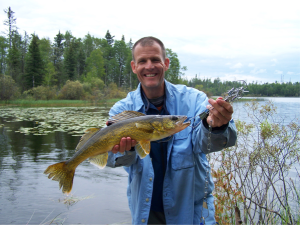 The Walleye I caught on my 50th Birthday in Lac LaRonge!