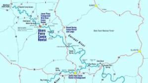 BSA Map 1